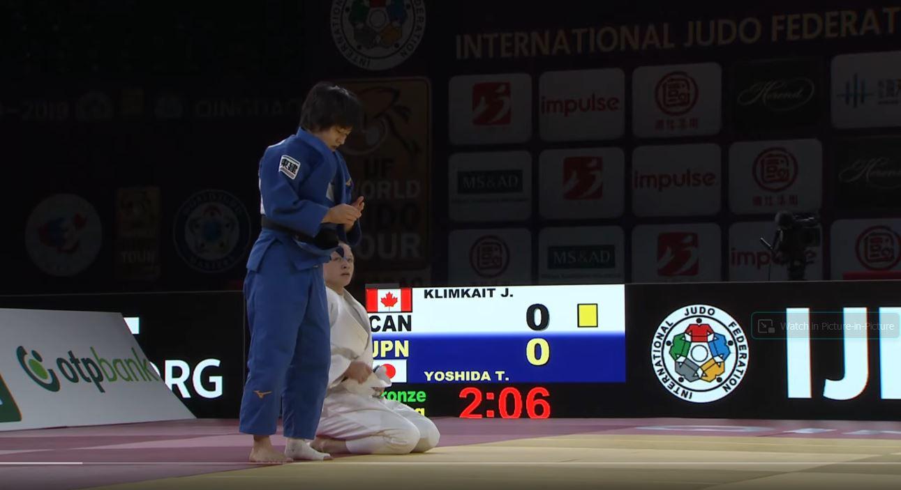 Can Yoshida beat Klimkait?