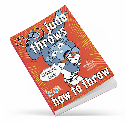 40 Judo Throws — an illustrated techniques book